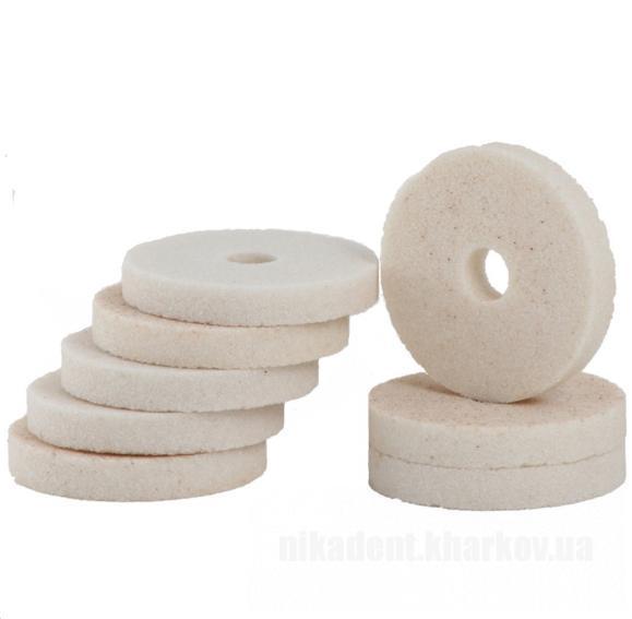 Фото Для зуботехнических лабораторий, АКСЕССУАРЫ, Полиры, щетки, диски Круг полировальный (