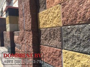 Фото  фундаментные блоки демлер для забора в Бресте