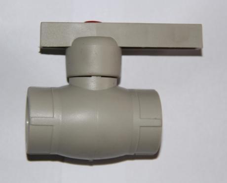 PP-R кран с латунным шаром d 32