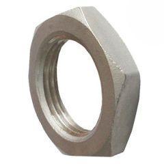 Фото Фитинг нержавеющая сталь Контргайка нержавеющая AISI 316L Ду 15