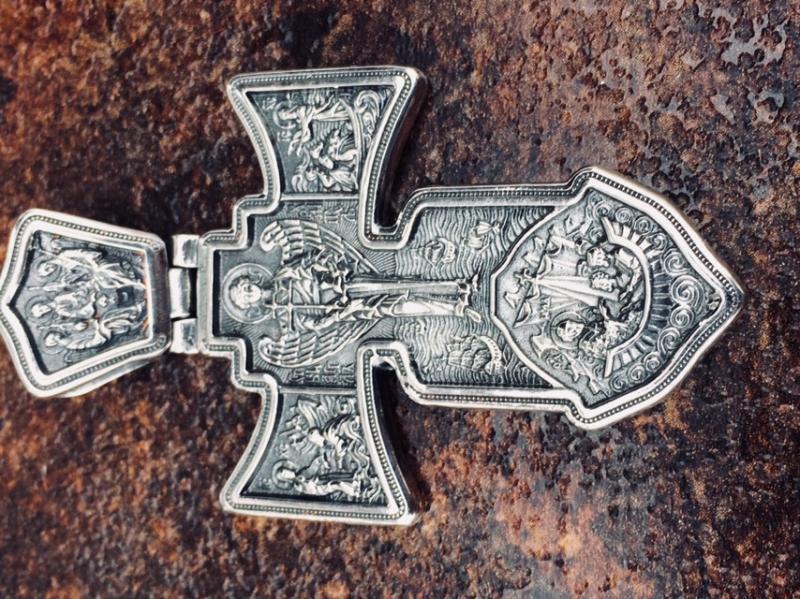 Фото Нет в наличии, Большой нательный  православный крест помощь в странствии Большой нательный  православный крест помощь в странствии