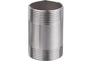 Фото Фитинг нержавеющая сталь Бочонок нержавеющий AISI 304L Ду 15