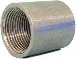 Фото Фитинг нержавеющая сталь Муфта нержавеющая AISI 316L Ду 15