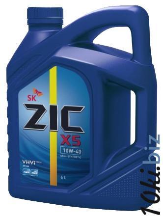 Zic X5 10w40 6л (A)  Моторные масла в Челябинске
