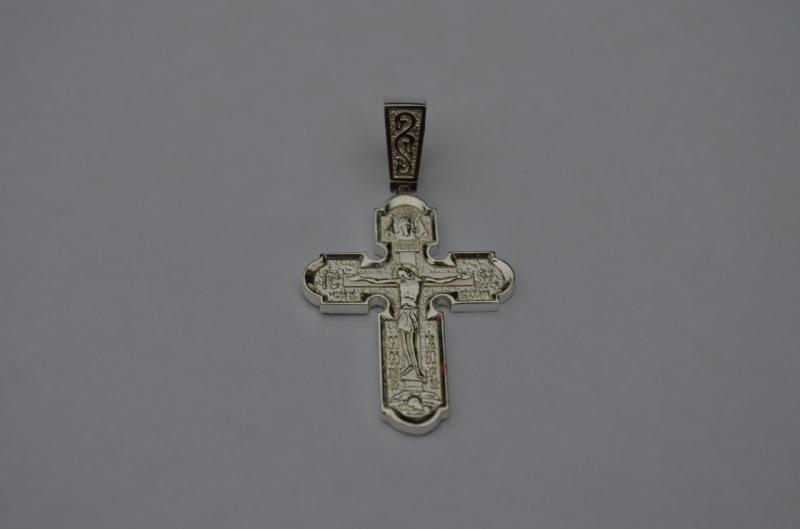 Серебряный крест Покрова