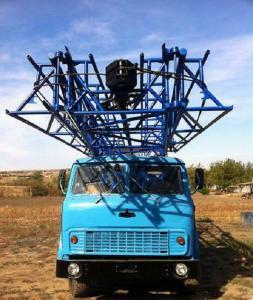 Фото  Буровая установка УРБ-3АМ на базе Маза 500