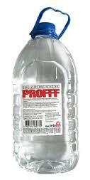 Вода дистиллированная 5л Proff