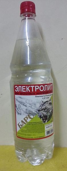Электролит 1,5л.корректирующий БАРС