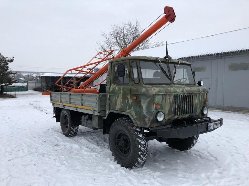 Ямобур БКМ-2,5 на базе Газ 66