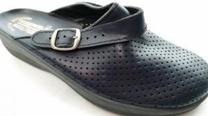 Фото Обувь рабочая медицинская женская оптом Сабо медицинские синие