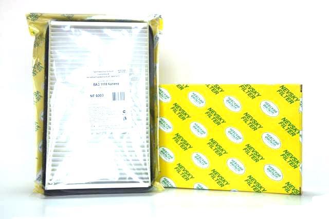 Фильтр салона 1118 Калина, Гранта угольный NF-6003c