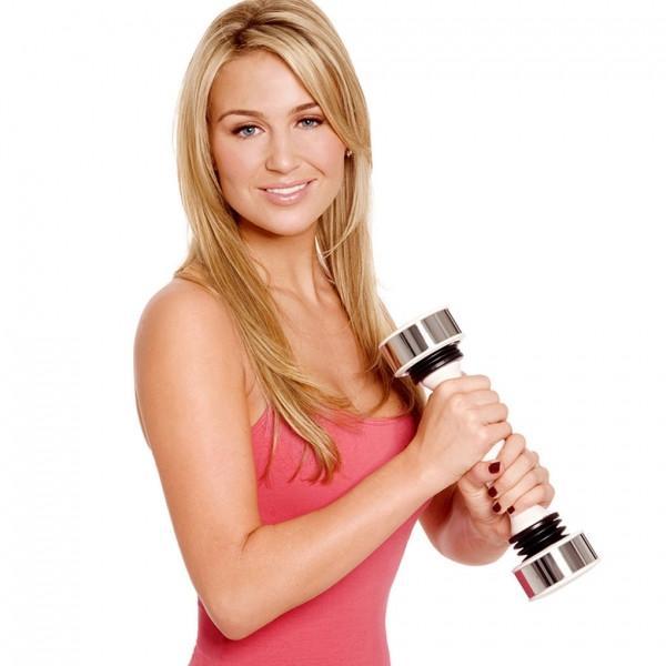 Виброгантель Shake Weight Woman – новый тренажер для женщин