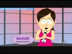 Фото Тренажеры для фитнеса Виброгантель Shake Weight Woman – новый тренажер для женщин