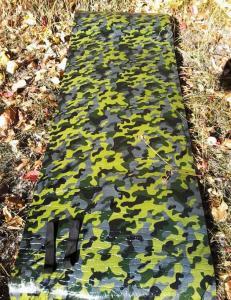 Фото Карематы (коврики туристические) Каремат камуфлированный «Хантер» 1800х550х10мм