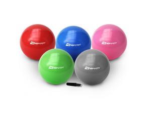Фото Фитболы (мячи для фитнеса), балансировочные полусферы BOSU Фитбол (гимнастический мяч) Hop-Sport 65см GYM BALL.+ насос