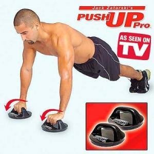Фото Упоры для отжиманий, ролики для пресса Упоры для отжиманий круглые «Push Up» PRO