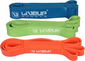 Фото Эспандеры, жгуты, резина для фитнеса Лента для фитнеса LiveUp LATEX LOOP 208 см Hard
