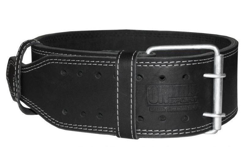 Атлетический пояс кожаный (трехслойный) XL (88-106 см)