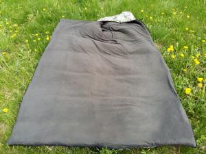 Фото Мешки спальные (спальники) Зимний спальный мешок - одеяло с компрессионным чехлом «Зима»