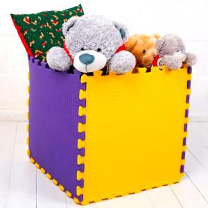 Фото Напольные покрытия - пазлы в детскую комнату Пол - пазл для детской комнаты, 1 элемент 480х480х10мм