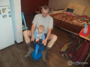 Фото Детские развивающие игровые коврики Бибикар - машинка для детей