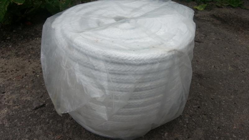 Шнур квадратный плетёный для котлов и печей.