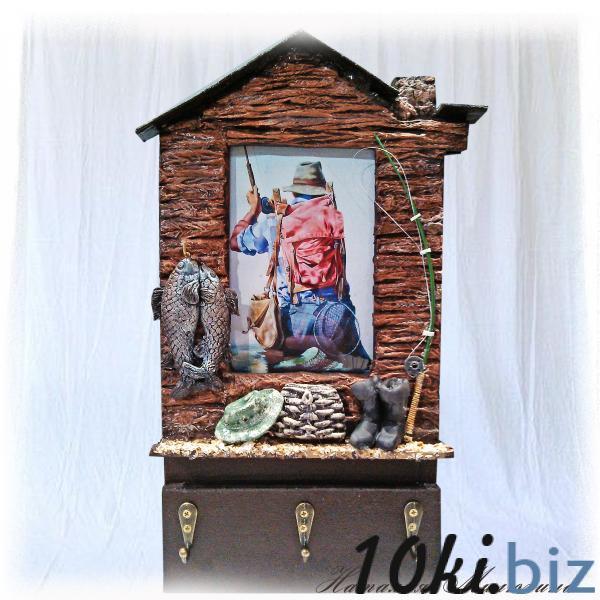 Фоторамка - ключница Клевого клева Оригинальный подарок мужчине рыбаку Ручная работа Ключницы, ящики для ключей в Украине