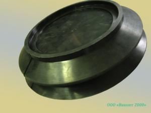 Фото  Присоска-держатель вакуумная ø280хø210х69, 6 мм для переноски стекла