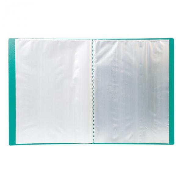 Папка с файлами LITE А4, 40 файлов, пластик 500 мкм.