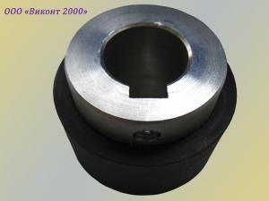 Фото  Обрезинивание ролика протяжки бумаги ø60хø42х25 мм, упаковочной пленки
