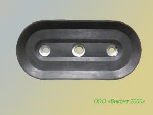 Фото  Присоска резиновая плоская 190х90х20 мм типа BSP для оборудования