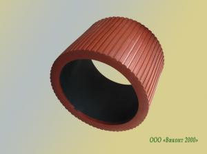 Фото  Ремень резиновый 4080 для линий по фасовке макаронных изделий Ricciarelli (Италия)