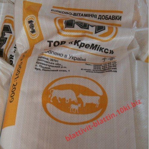 Фото  КРЕМИКС Бмвд Премикс Комбикорм Сухое Молоко , Белково-витаминные добавки для телят БВД КМ Т-40% для телят возрастом 0-6 месяцев