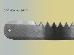 Фото  Нож зубчатый - пилка 172х18х1, 4 мм для производства мороженого