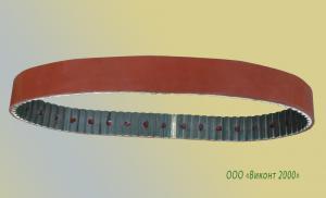 Фото  Восстановление резинового покрытия ремней АТ10/840+3 мм для оборудования MASTERFLEX 2100