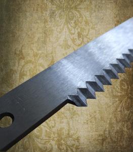 Фото  Нож отсекающий 190х20х2, 0 мм. для упаковочной машины «Бестром» (Россия)