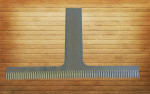 Фото  Нож отсекающий 145х90х1, 8 мм. для упаковочных автоматов фирмы «Лидия»