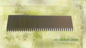 Фото  Нож режущий 100х27х2, 0 мм
