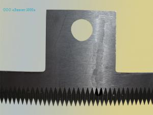 Фото  Нож 248х50х2, 0 мм для упаковочных автоматов «Лазер»