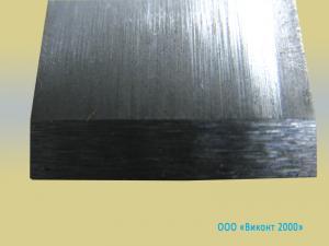 Фото  Ножи 16, 3х44, 9х1, 0-1, 5 мм для разрезания полиэтиленовых гранул