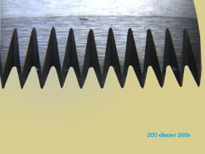 Фото  Ножи зубчатые для