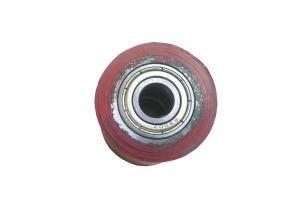 Фото  Восстановление резинового покрытия ролика кромкоклеющего станка Ø35хØ20х40 мм
