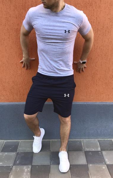 Мужской летний спортивный костюм (шорты+футболка) Under Armour
