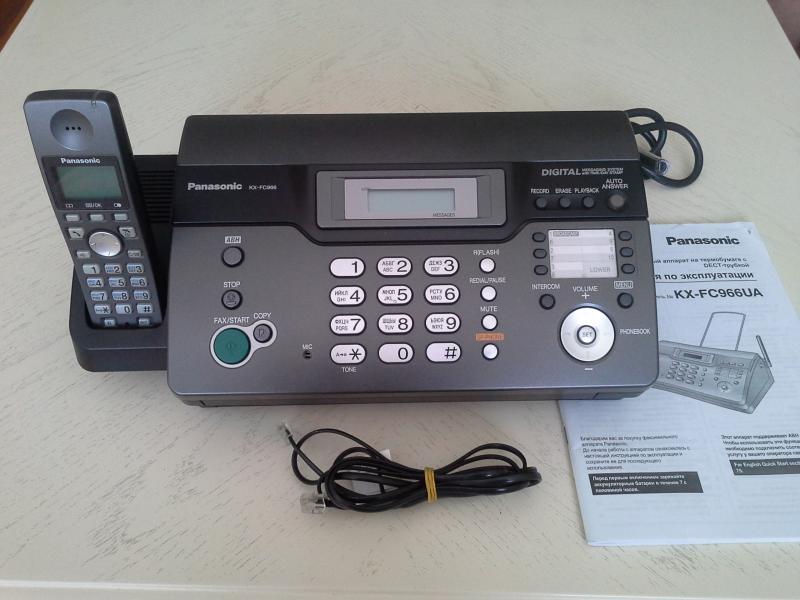 Факс Panasonic №КХ-FC966UA