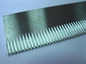 Фото  Нож отсекающий 220х24, 6х1, 7 мм. для горизонтального упаковочного автомата «Колибри А176»