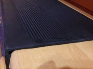 Фото  Противоскользящая резиновая накладка на ступени (750х330 мм)