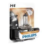 Лампа PHILIPS галоген. 12В 60/55W H4 +30% 12342PR блистер