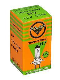 Лампа Wayton Н7 60/55W px26d