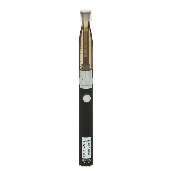 Электронный испаритель 650 mAh, UGO-V2, черный 1,5*17,5см