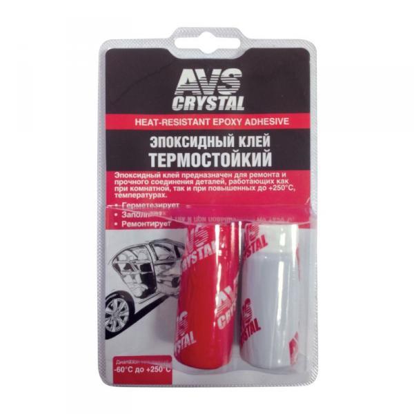 Клей эпоксидный AVS термостойкий 80г. AVK-12